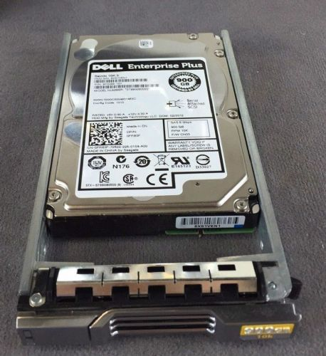 "EqualLogic 900Gb 10k SAS 2.5"" Hot plug hard drive with caddy pn FR83F"